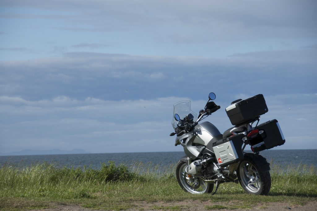 My first adventure bike, a 2007 BMW R1200GS