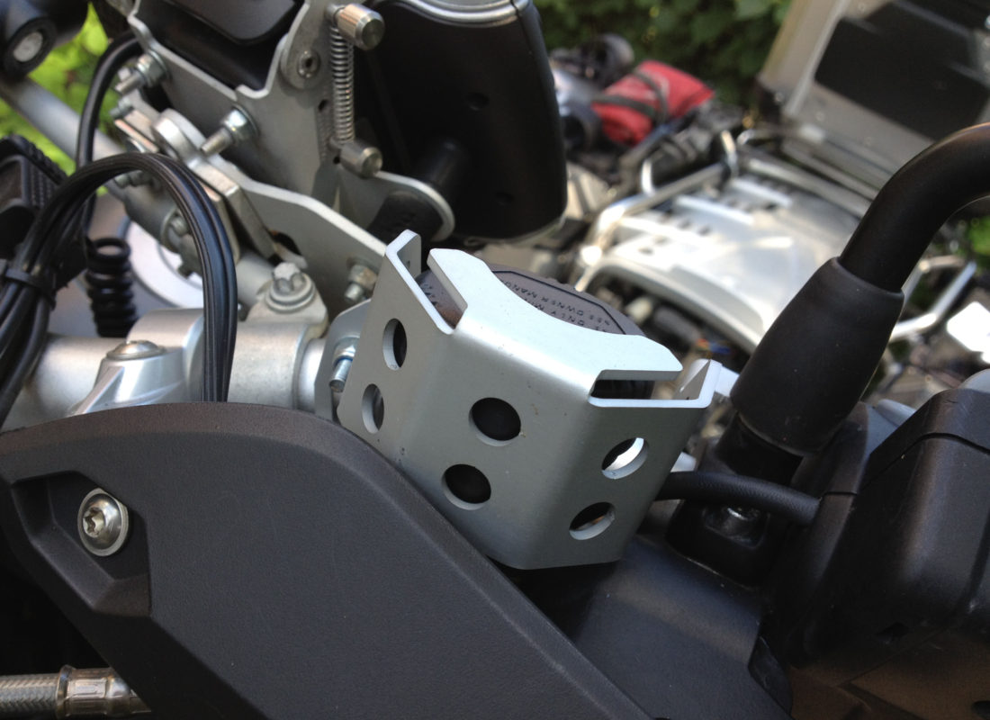 Touratech oil brake cover